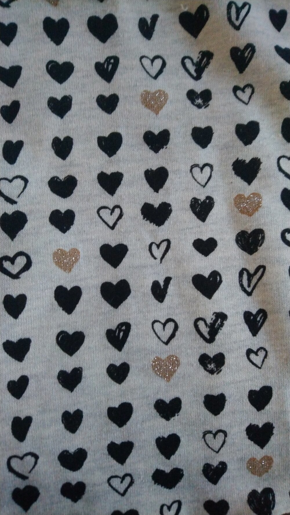 ensemble pour bébé - chaud hiver- tissus tout doux avec cœurs pailletés certifié oeko-tex idée cadeau de naissance