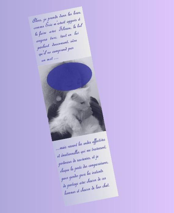lot de deux marque-pages astrologie avec photo, personnalisables : verseau