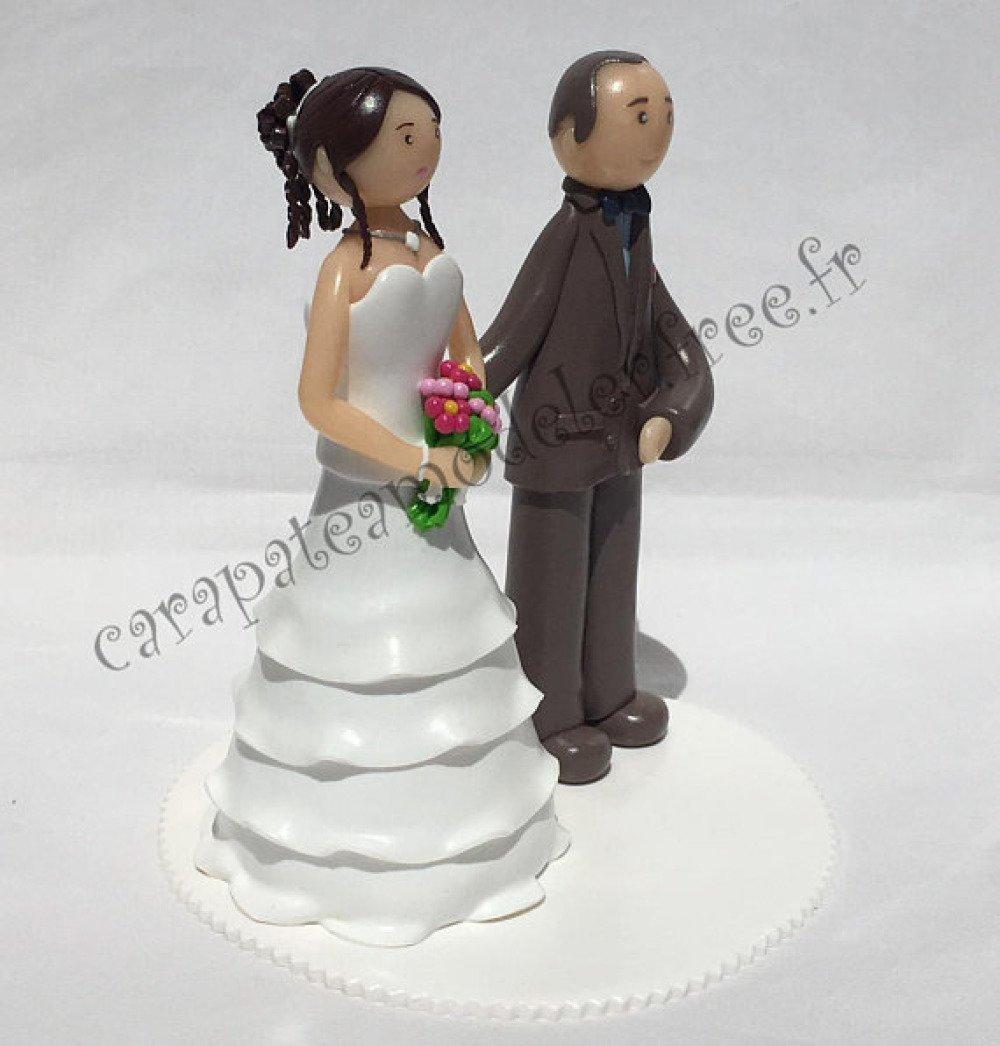 Figurines pour pièce montée de mariage