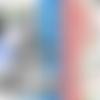 Carte de voeux alice au pays des merveilles alice création originale 12cm x 17cm