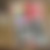 Carte de voeux alice au pays des merveilles chat de cheshire création originale 12cm x 17cm