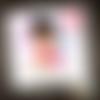 Carte d'anniversaire enfant princesse fée joyeux anniversaire personnalisée personnalisable