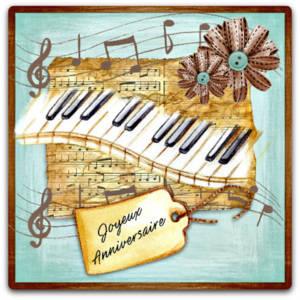 Joyeux Anniversaire Au Piano