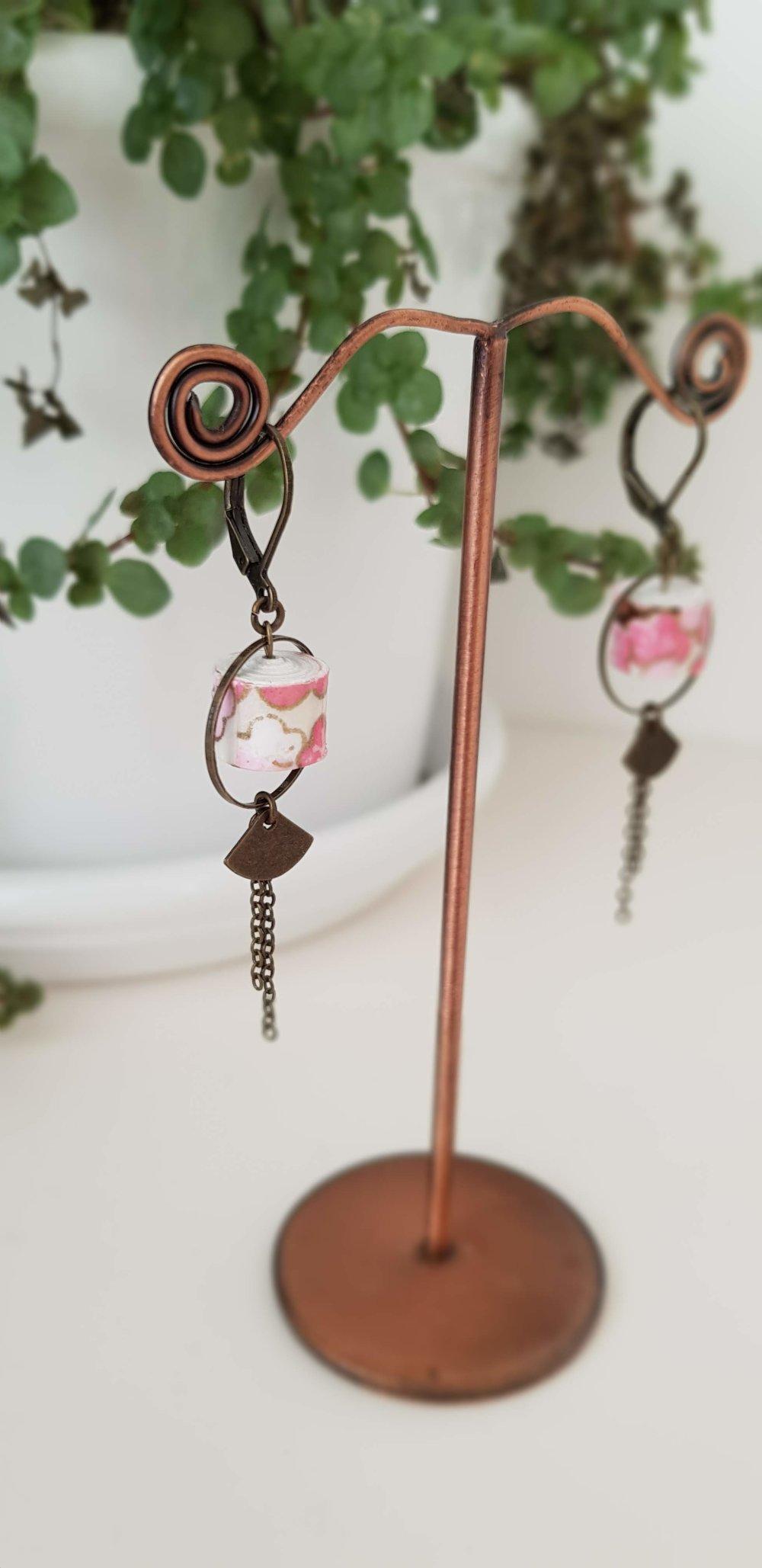 Boucles d'oreilles ~Sakura~Collection ~Petite Nippone~