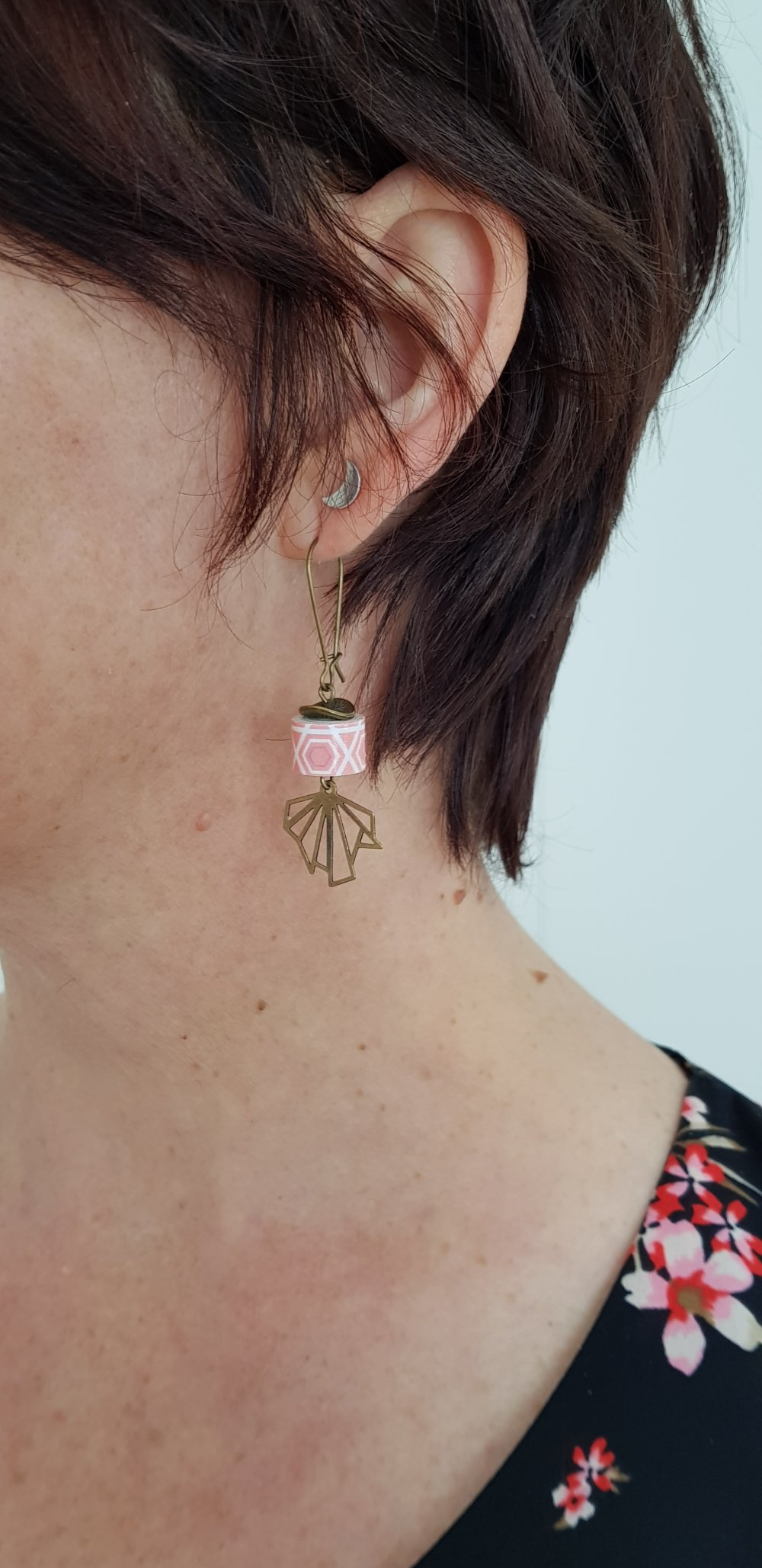 Boucles d'oreilles ~Kaori~Collection ~Petite Nippone~