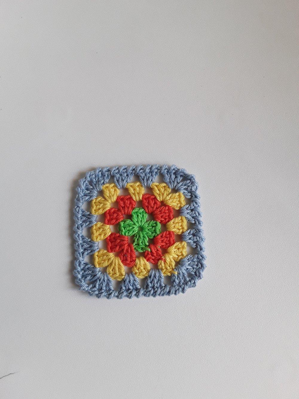 Napperon  granny en crochet