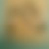 Mâlâ homme / femme 108 perles turquoise africaine / howlite pendentif perle dzi à 3 yeux