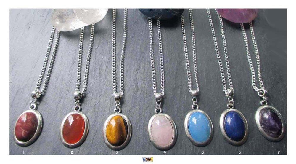 """Bracelet """"Harmonisation 7 chakras"""" - Perles naturelles sur métal argent"""