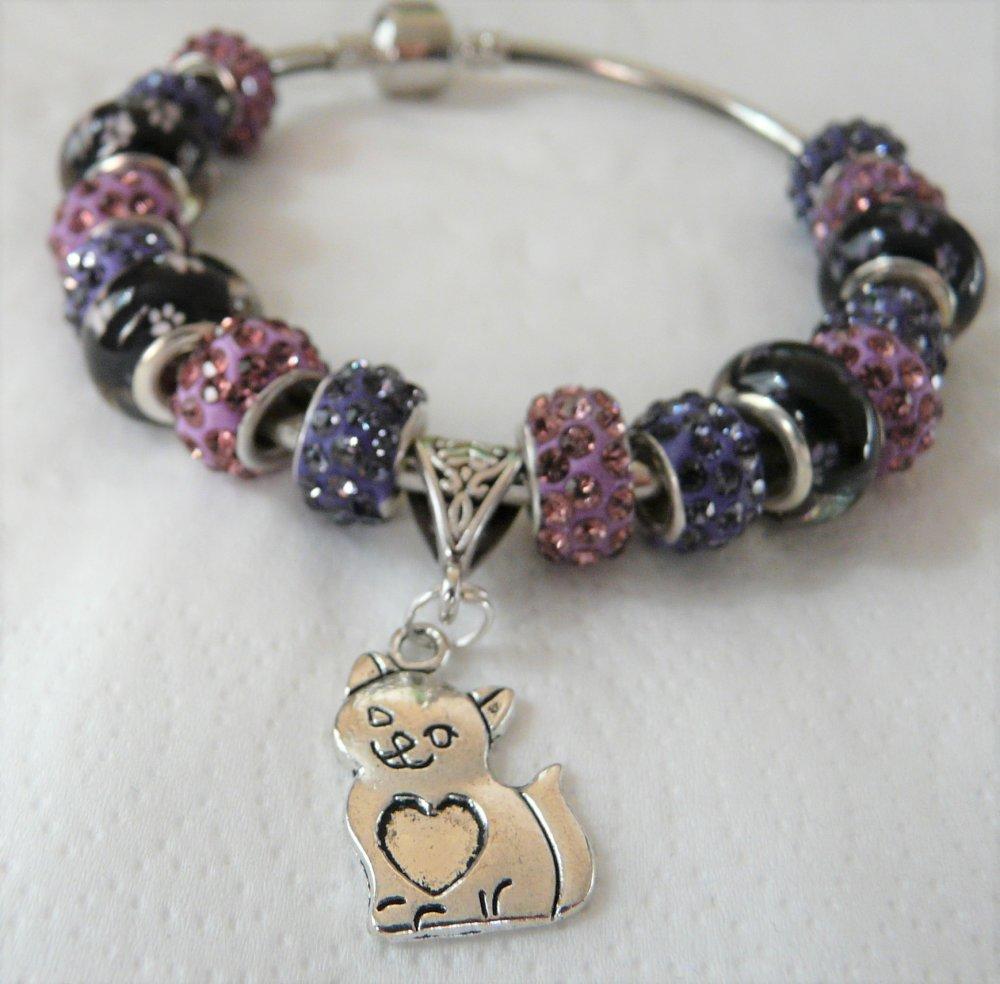 bracelet pandora perles