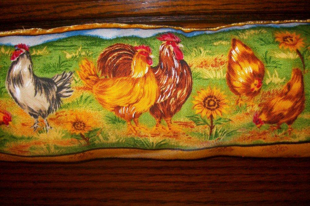 Coussin,déco poules,boudin de porte ,coussin décoratif