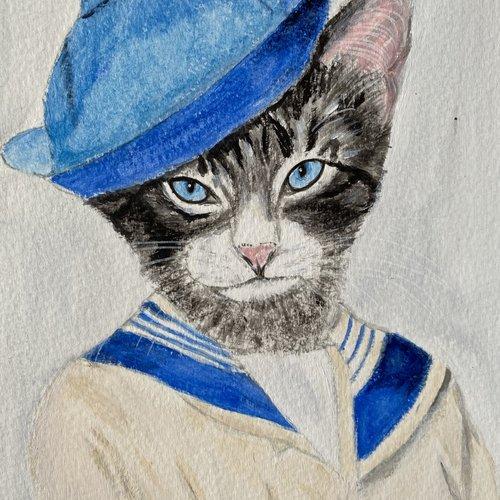 Chat marin