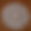 Napperon au crochet rond violette dentelle au crochet - coton écru très très fin dmc cébélia 30