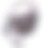 Petit sac bandoulière bohème chic crochet beige gris bleu