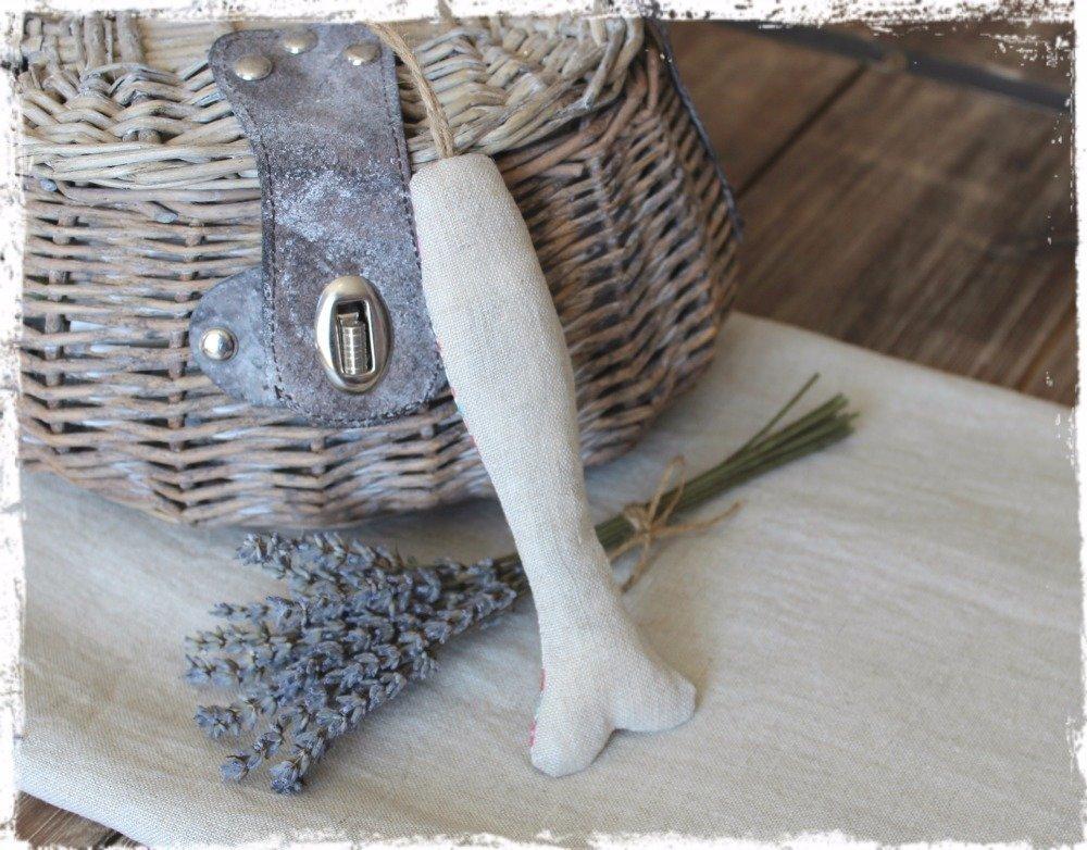 Fête des Mères / Poisson lavande à suspendre – Esprit « Nature et Sens »