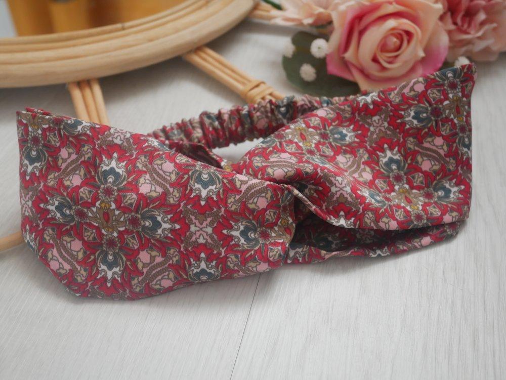 Headband imprimé foulard