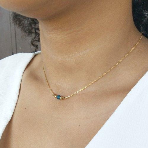 bijoux collier ras de cou or