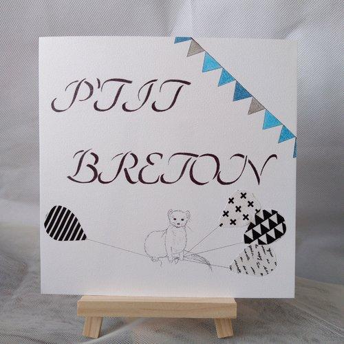 "Affiche ""p'tit breton"""