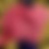 Étole au crochet, châle fait main, chauffe épaules en coton, cape motif ajouré, couvre épaules pêche corail saumon