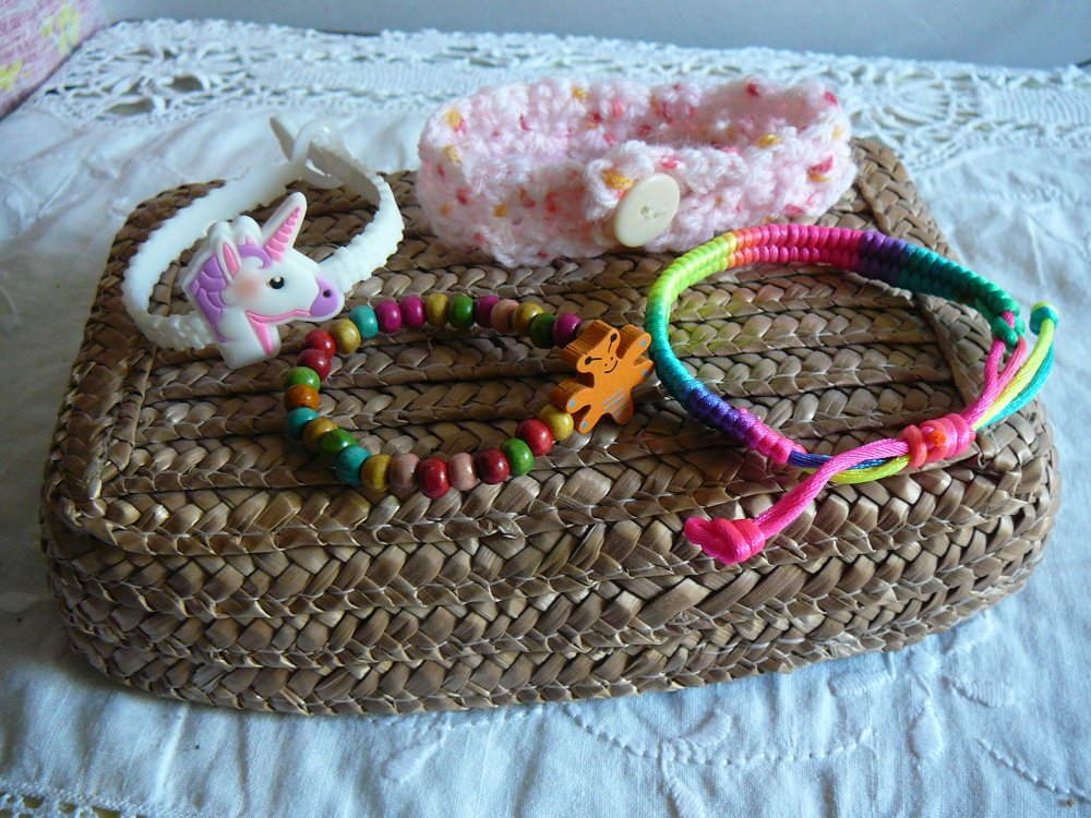 bracelets fillette