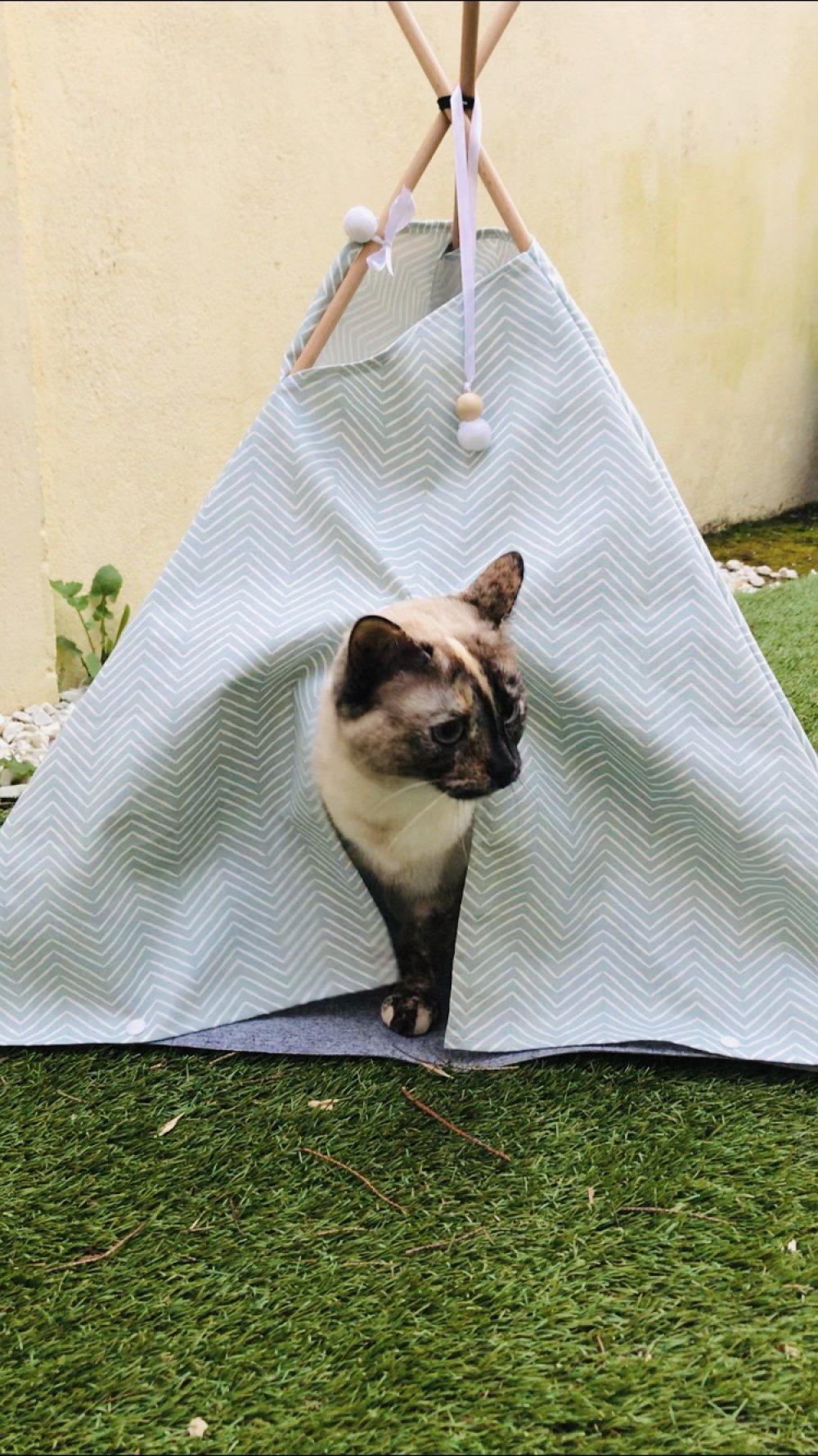 CHATHutte (tipi pour chat)
