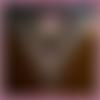 Châle crochet multicolore, accessoires, cadeau femme, couvre épaules chale virus