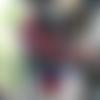 Châle crochet multicolore,accessoires, cadeau femme, chéche