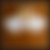 Napperon  blanc crochet, , centre de table crochet, décoration table