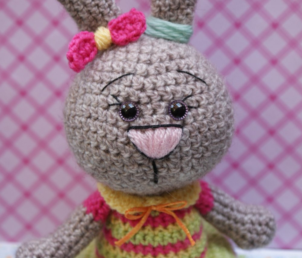 patron lapin mignonette amigurumi au crochet