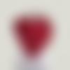 Chale ou cheche pour femme dans les tons rouge