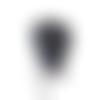 Chale ou cheche pour femme bleu marine au crochet , point granny