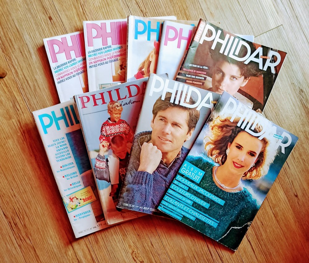 Magazine phildar decoration et loisirs 9