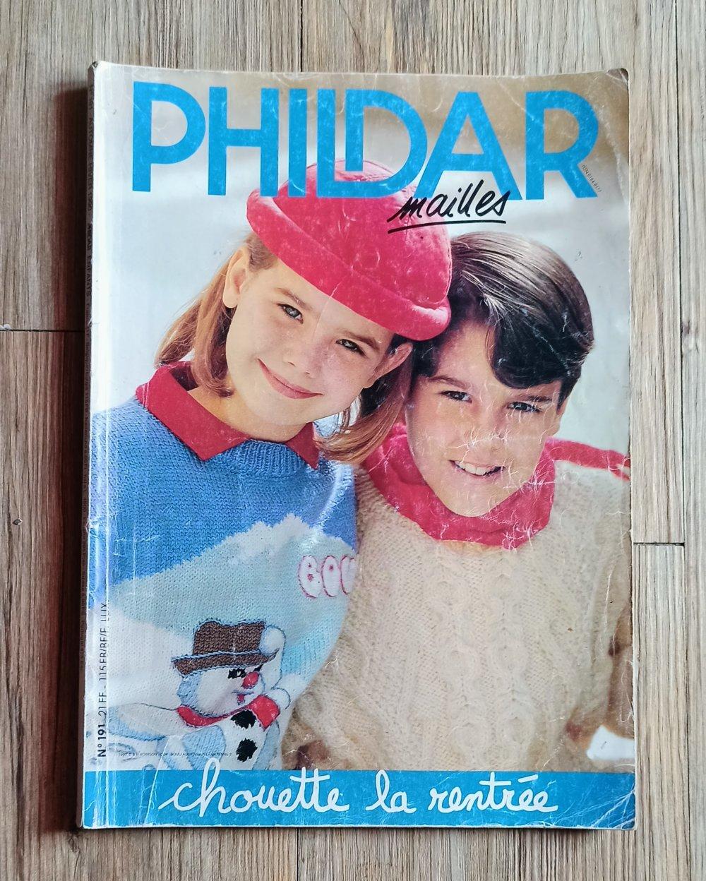 Magazine phildar mailles 191