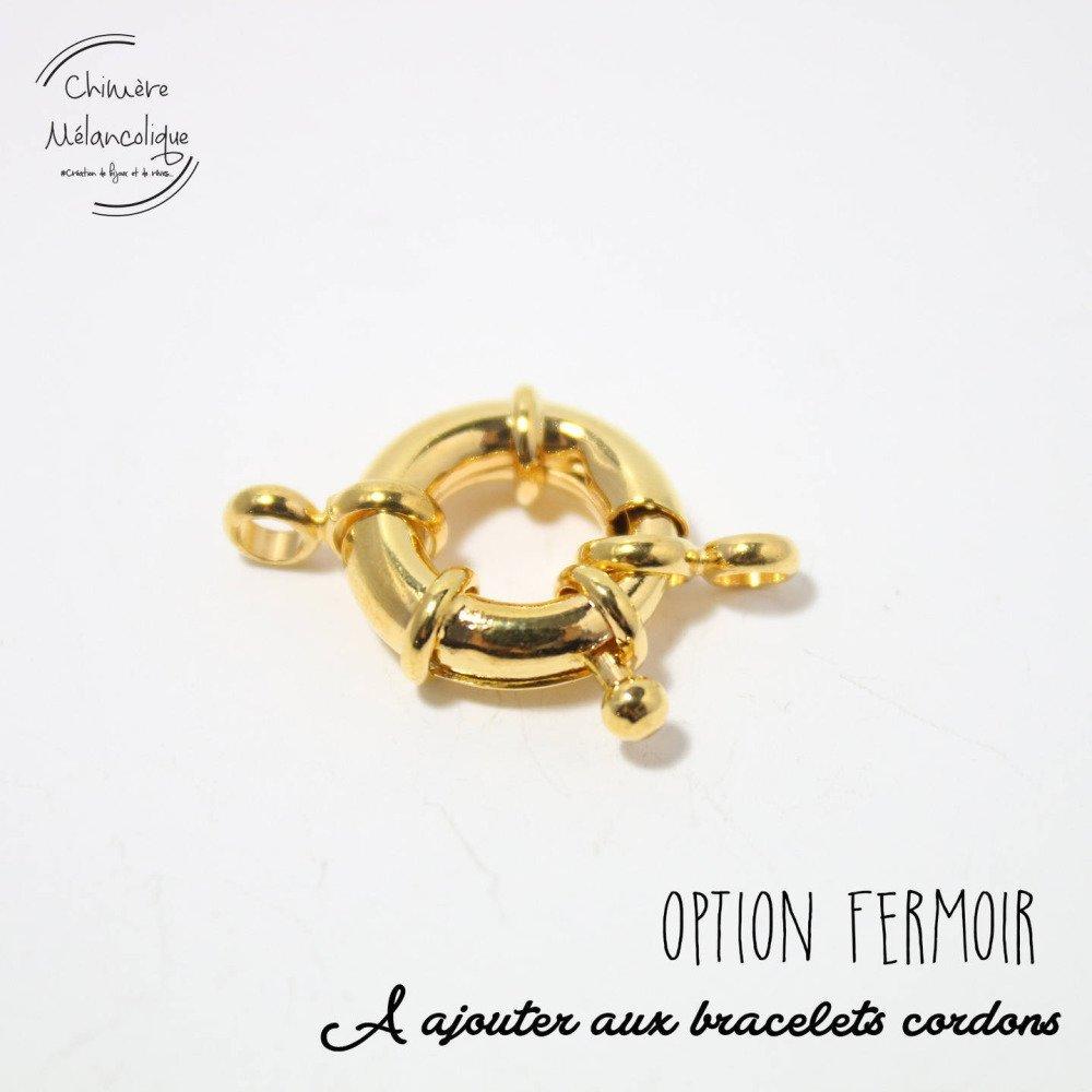 OPTION - Fermoir pour Bracelet Liberty Chimère Mélancolique M7