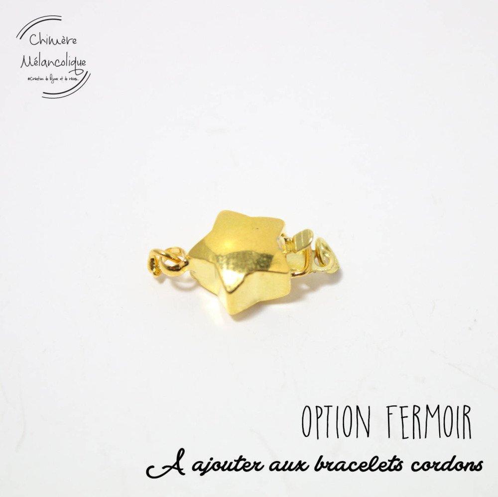 OPTION - Fermoir pour Bracelet Liberty Chimère Mélancolique M6