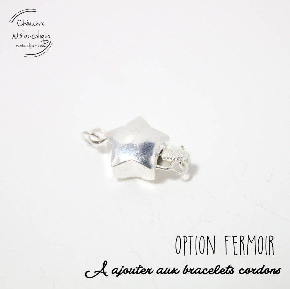 OPTION - Fermoir pour Bracelet Liberty Chimère Mélancolique M5