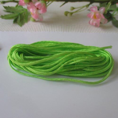 Fil nylon 1.5 mm vert clair x 5 m