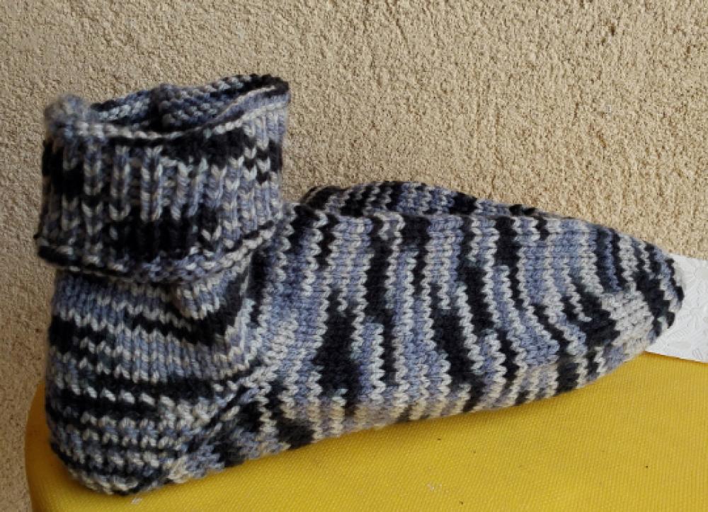 CHAUSSETTE tricotée main P41 L