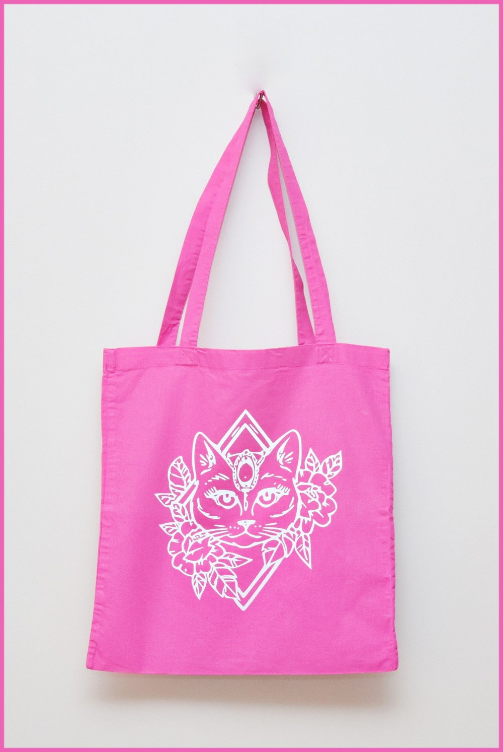 tote bag chat tribal