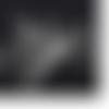 50 clous à oeil 15 mm en métal argenté vif