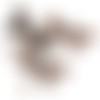 Pendentif grande libellule en métal cuivré (x1)
