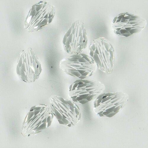 5500 Choix De Couleur 2 Swarovski ® Cristal Perles Gouttes à facettes 9x6mm Art