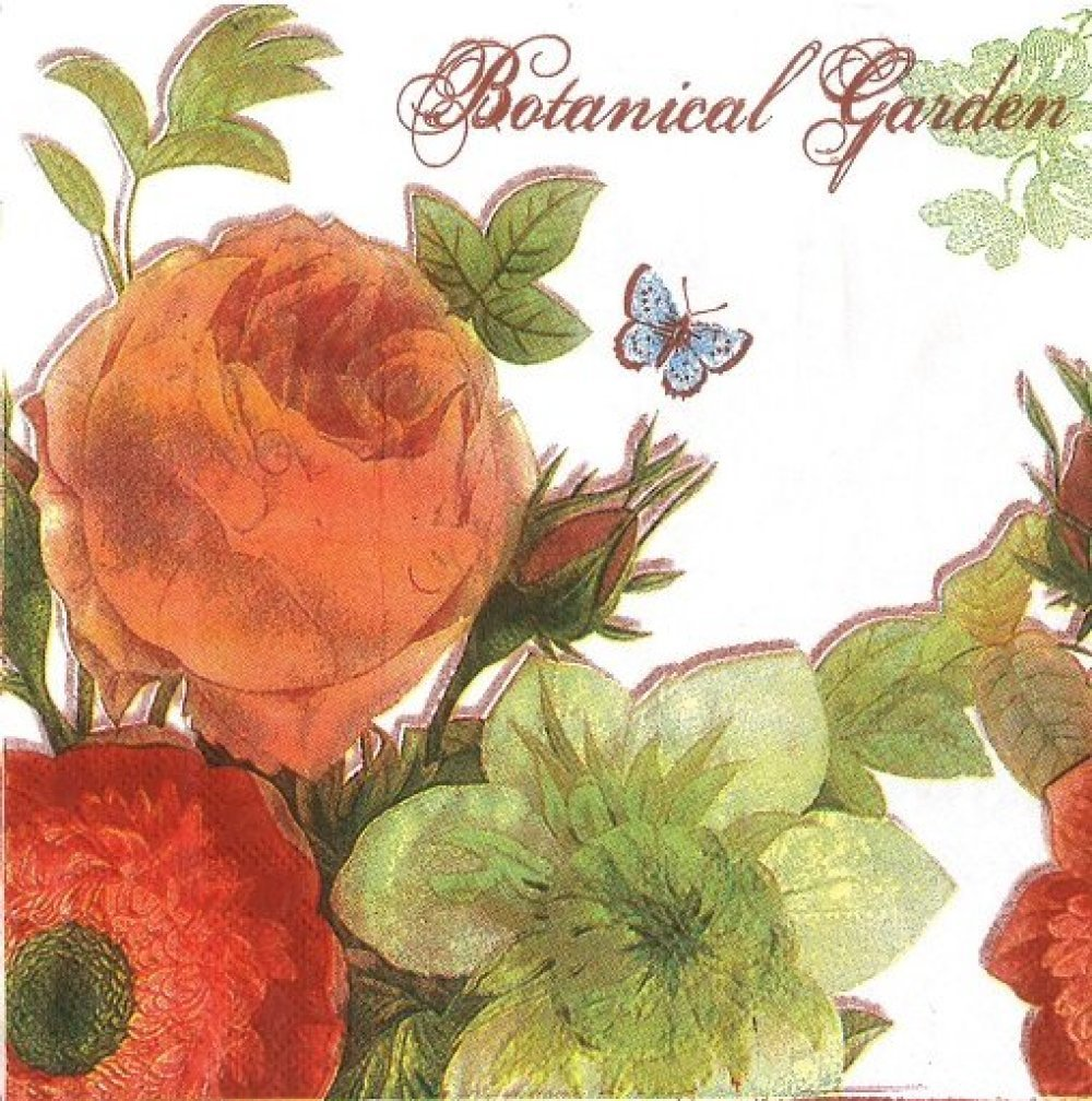 serviette en papier botanique (392)