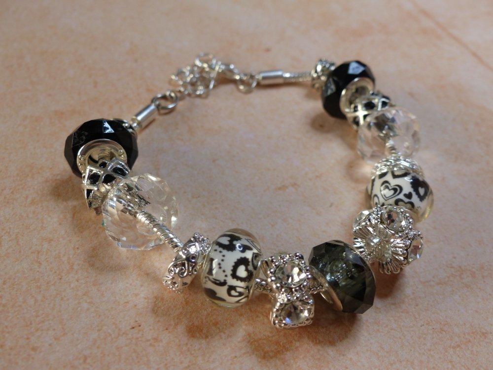 bracelet pandora noir