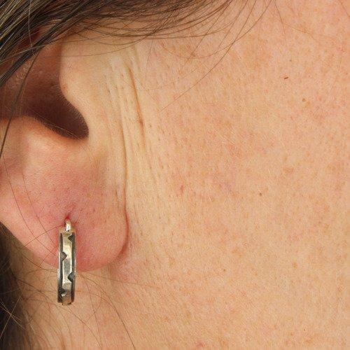 boucle d'oreille anneaux homme