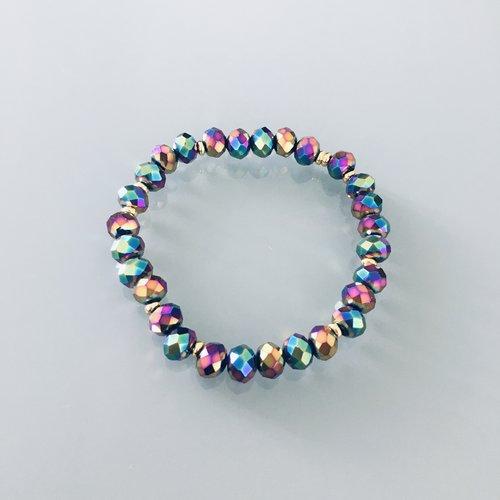 Bracelet femme perles heishi et scarabées, bracelet perles, idée ...