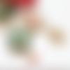 Collier noël, sautoir style ugly sweater, bijoux secret santa