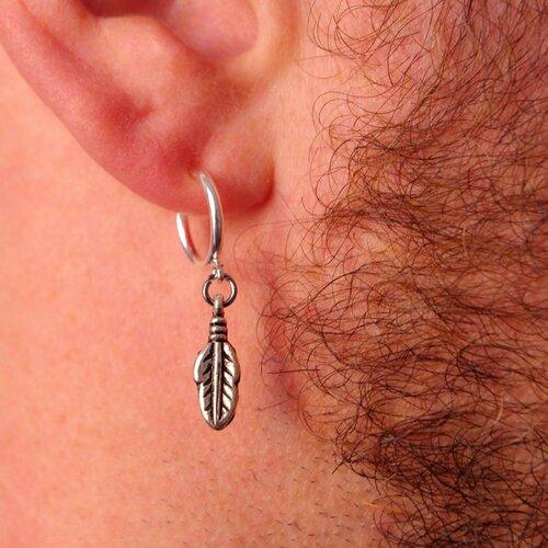 boucle d'oreille hommes clip