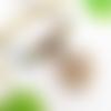 Collier plastron boho chic, pendentif fleur de lotus ou plume, bijou bohême