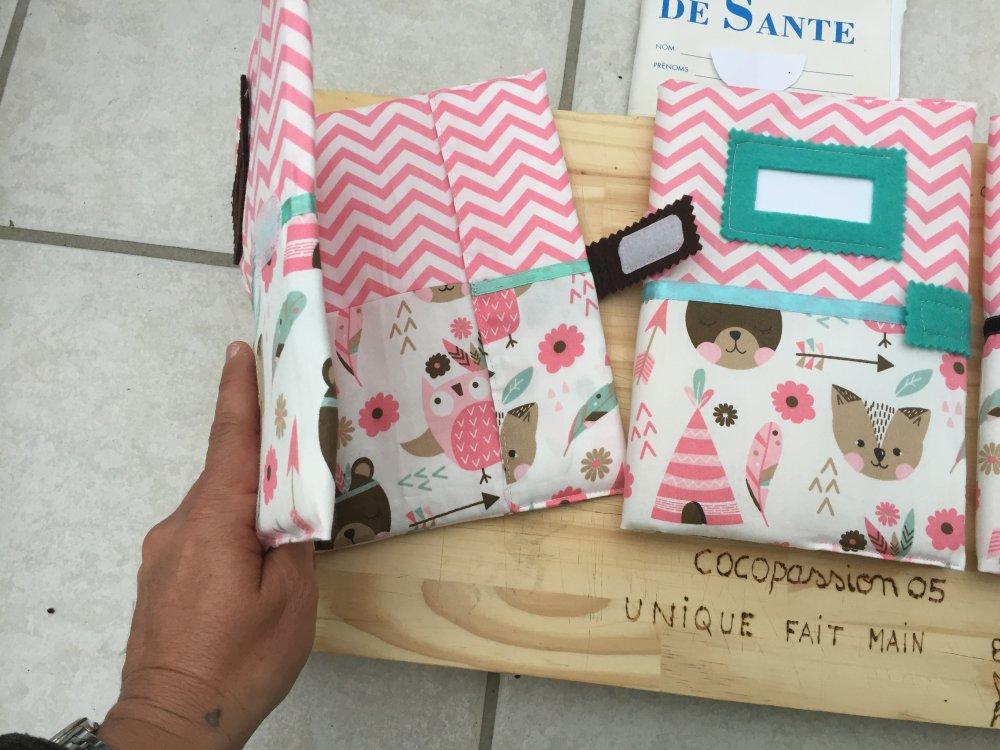 protège carnet de santé ,cadeau naissance ,bébé