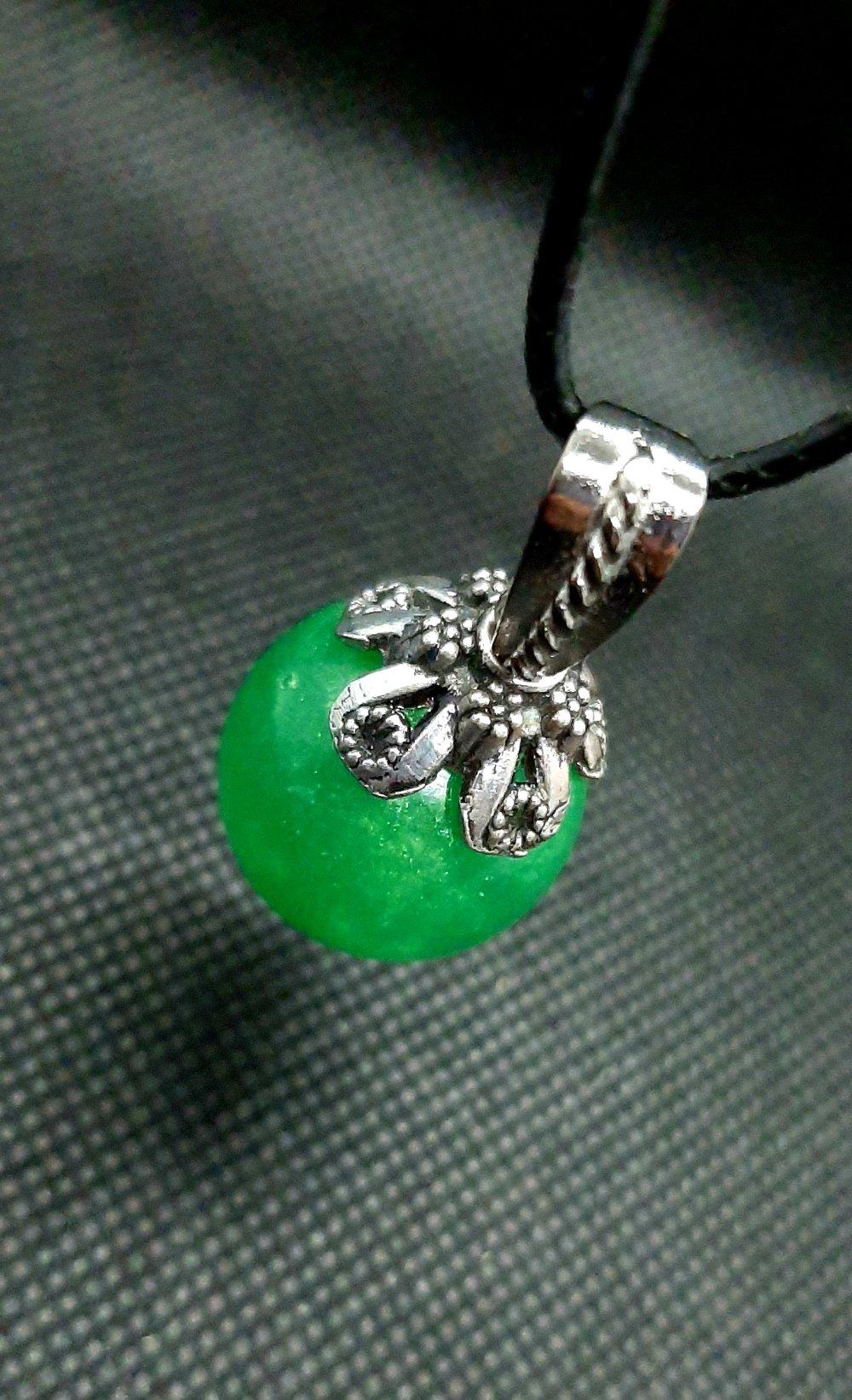 Collier Magic'Bubble vert